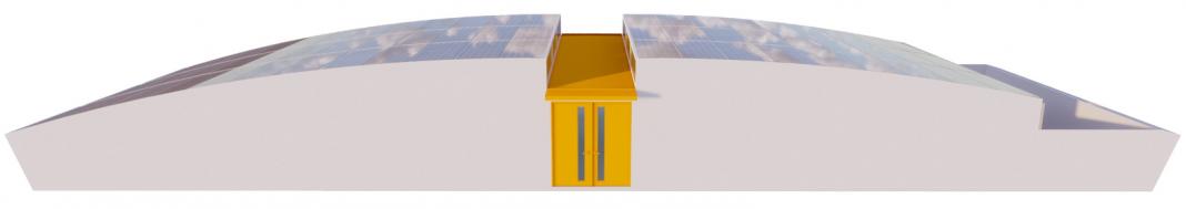 MABEWO AG Solar Dome Seitenansicht